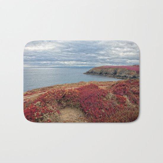 Irish Pomegranate Coast Bath Mat