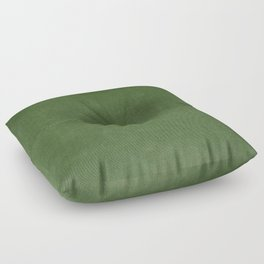 Sage Green Velvet texture Floor Pillow