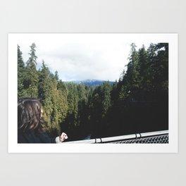 Capilano, British Columbia Art Print
