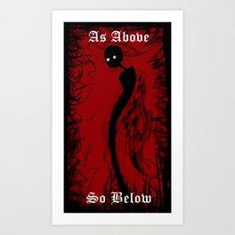 Angel Demon Art Print