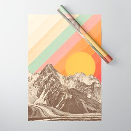 Mountainscape 1 Wrapping Paper