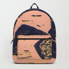 Bathing Girl in Purple/Pink Backpack