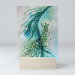 Peaceful Fish Dancing in the Ocean 1 Mini Art Print
