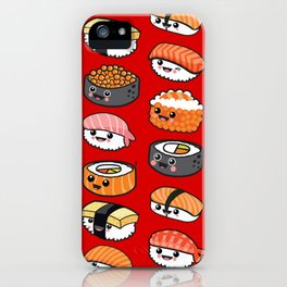 Sushi family iPhone Case
