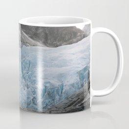 Blue Ice Glacier range in Norway - Landscape Photography Coffee Mug