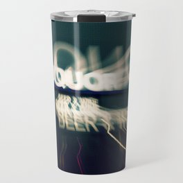 Liquor Store Sign Travel Mug