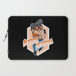 Grandma Great-grandma Grandmother Hero Superhero Laptop Sleeve