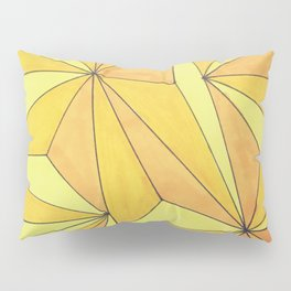 Mountains of Gold Pillow Sham