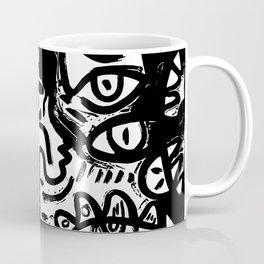 Dark Street Art Stencil Vector Graffiti Coffee Mug