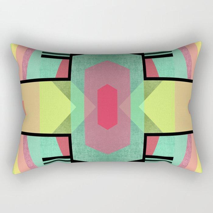 Tribal II Rectangular Pillow