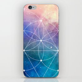 Sacred Geometry Universe iPhone Skin