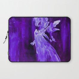 Guardian Angel - Dark Purple Laptop Sleeve