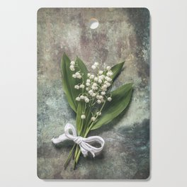Beautiful Lily Of The Valley Cutting Board