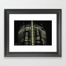 Manhattan Skyline Series 007 Framed Art Print