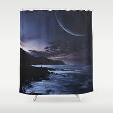Distant Planets Shower Curtain