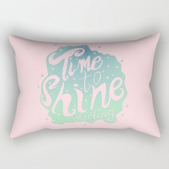 Time To Shine Darling Rectangular Pillow