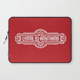 Lentil as Anything - Red Laptop Sleeve