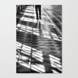 Leaving Canvas Print