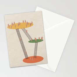 Stairway to Heaven Abstract  Stationery Cards