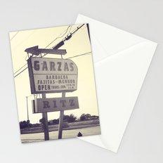Garza's + Ritz Stationery Cards