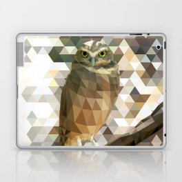 Burrowing Owl - Low Poly Technique Laptop & iPad Skin