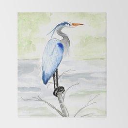 Heron Throw Blanket