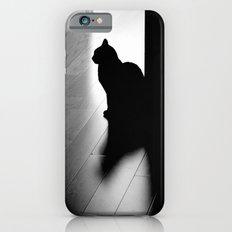 black cat Slim Case iPhone 6