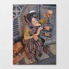 Rucus Studio Maddie the Eccentric Witch Canvas Print