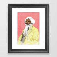 Frodrick Douglas Framed Art Print