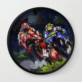 Motogp Champion Wall Clock