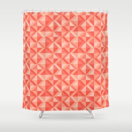 Geometic pattern Shower Curtain
