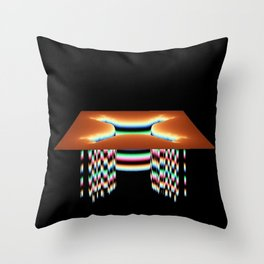Sink Hole Throw Pillow