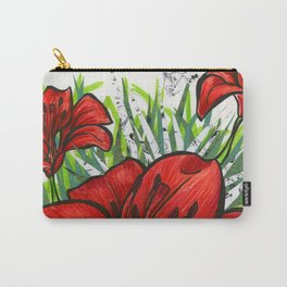 Red TigerLily 1 Carry-All Pouch