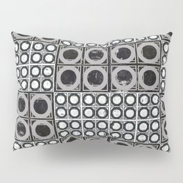 Beyond Zero in black and white Pillow Sham