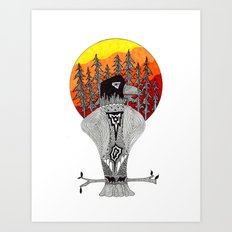Agila Art Print