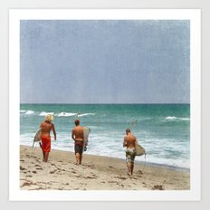 The Boys of Summer Art Print