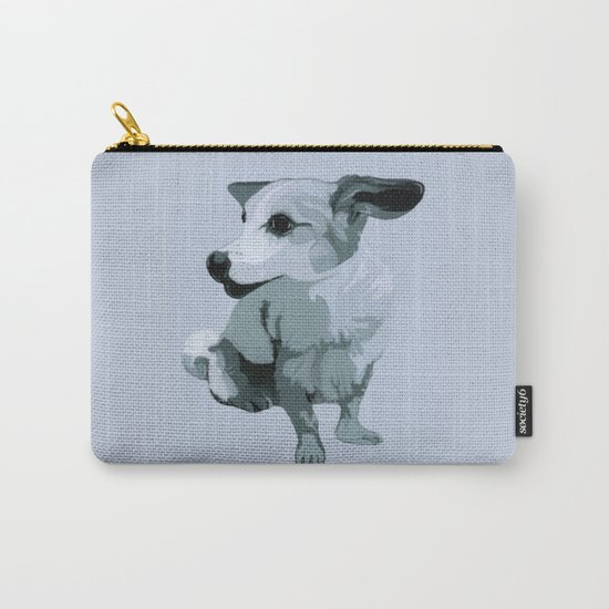 Linda dog Carry-All Pouch