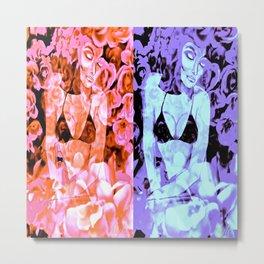 Double Beauty Metal Print