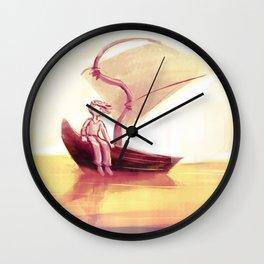 Peaceful efforts Wall Clock