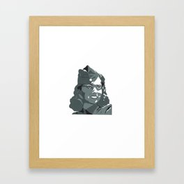 WWII Gal Framed Art Print
