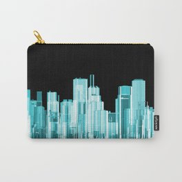 Hologram city panorama Carry-All Pouch