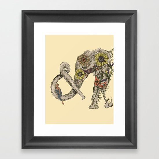 LET'S GO HOME Framed Art Print