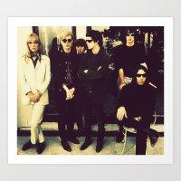 velvet underground Art Prints featuring The Velvet Underground by carlyborror