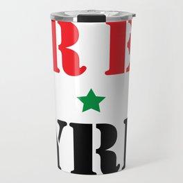 FREE SYRIA Travel Mug