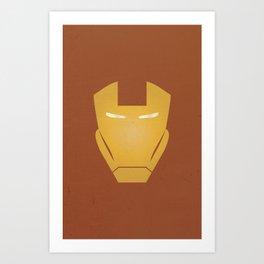 Minimalist IronMan Art Print