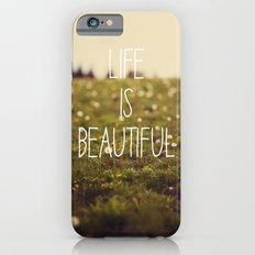 Life is Beautiful (Dandelion) Slim Case iPhone 6s