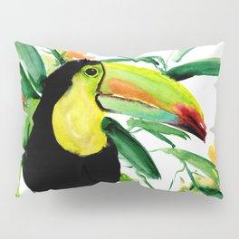 Toucan, Tropical Art, tropics Pillow Sham