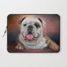 Hanging Out - Bulldog Laptop Sleeve