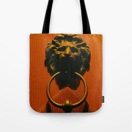 The knocker Tote Bag
