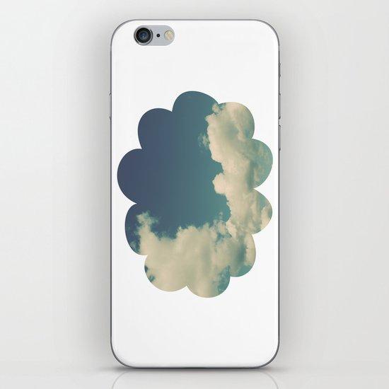 Puffy Cloud iPhone & iPod Skin